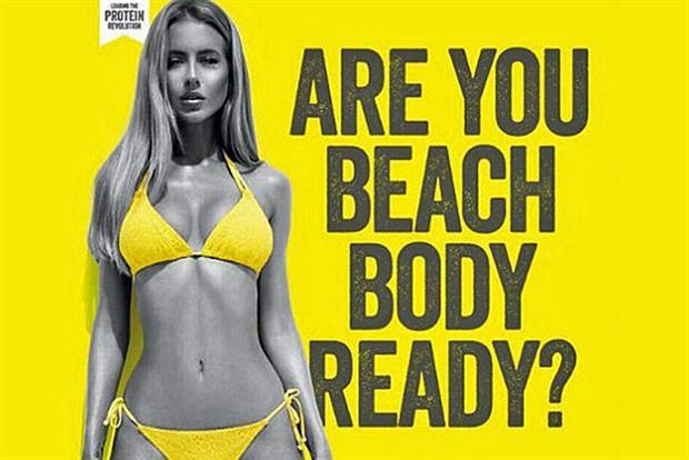 """Protein World's """"Beach Body Read"""" Ad Campaign"""