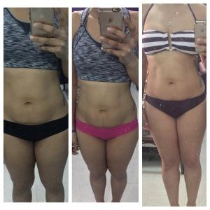 Progress Pictures: Oct '14 v. Nov '14 v. Apr '15