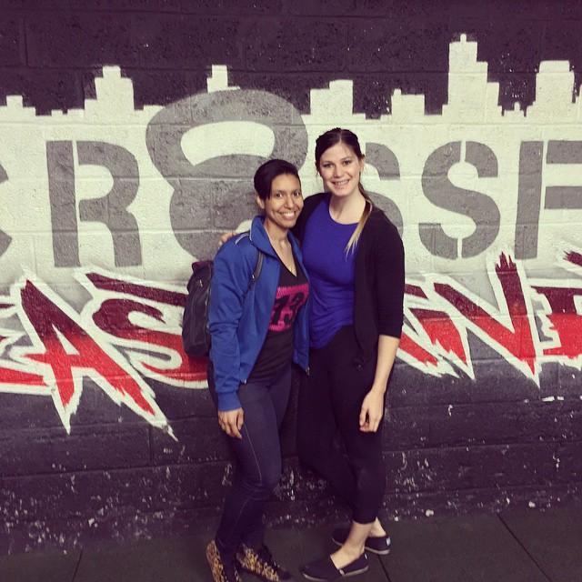Met JazzyThings (Jasmine Schmalhaus) at the NYC Jazzy Workshop!